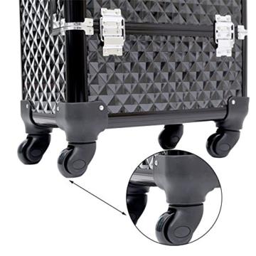Songmics® Fusspflegekoffer für Fusspflegegerät