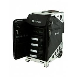 Züca Pro Artist black/silver, Ideal für Visagisten und perfekt zum Sitzen -