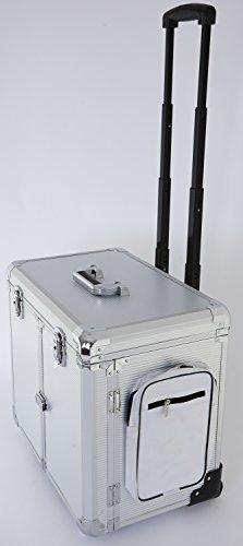 Fusspflegekoffer Modell CS-Titanium silber -