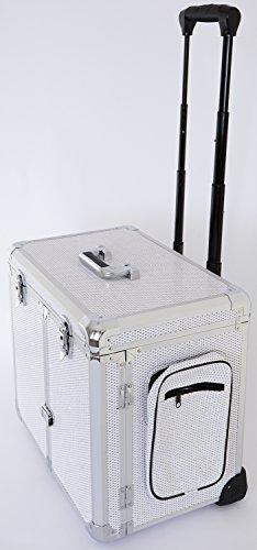 Fusspflegekoffer Modell CS-WHITE GLITTER -