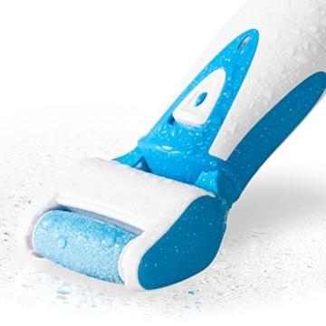 pediküre elektrisch und Hornhautentferner, Fußpflege Gerät wiederaufladbar & wasserfest, Hornhautentferner elektrisch -