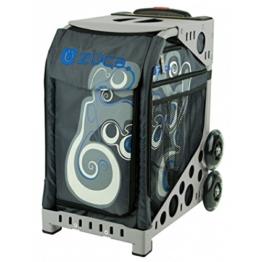 ZÜCA Electric Blue mit grauem Rahmen -