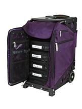 züca Pro Artist Case - ein Muss für jeden Make-Up Artist (Royal Purple/schwarz) -