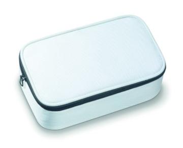 Sanitas SMA 35 elektrisches Maniküre-/ Pediküre-Set, mit 7 Nagelpflege-Aufsätzen, weiß/silber - 7